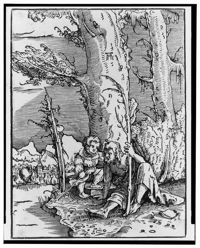 [St. Christopher with infant Christ]
