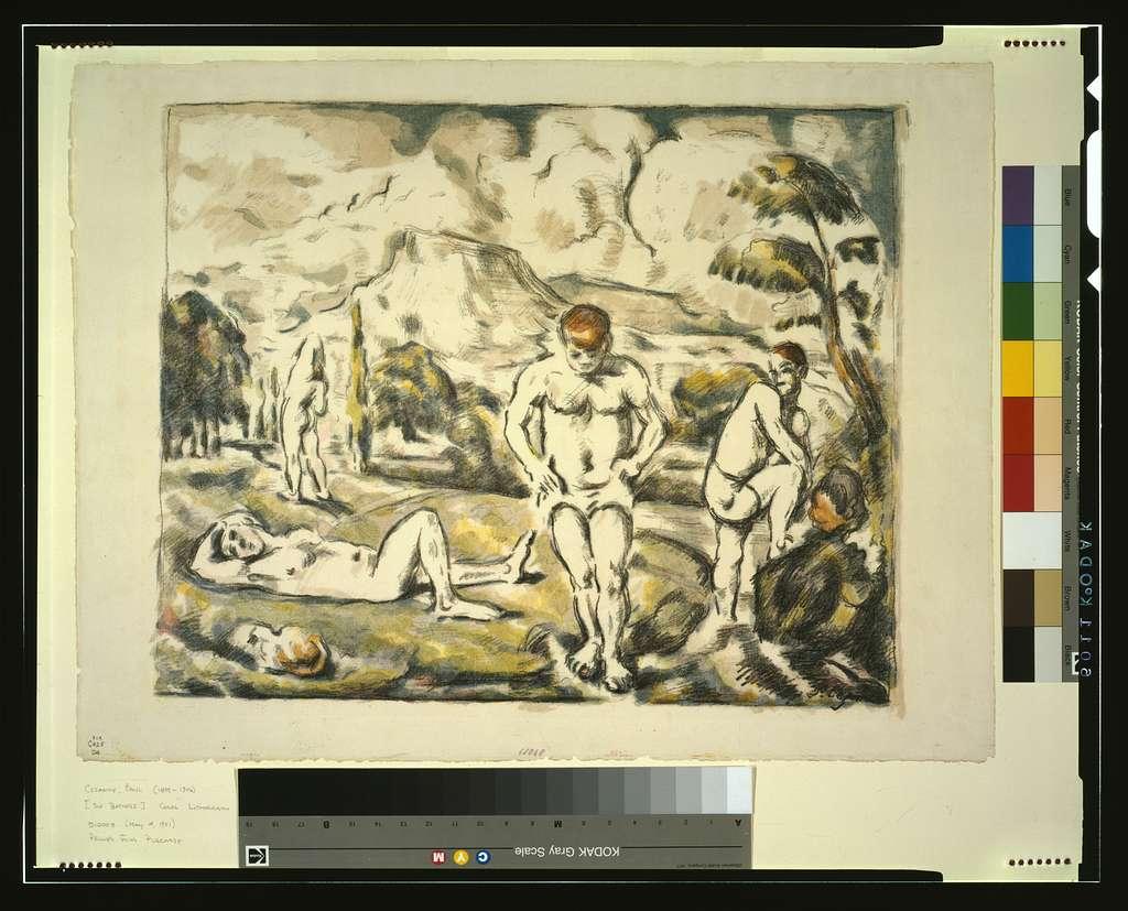 [The bathers] / P. Cézanne.