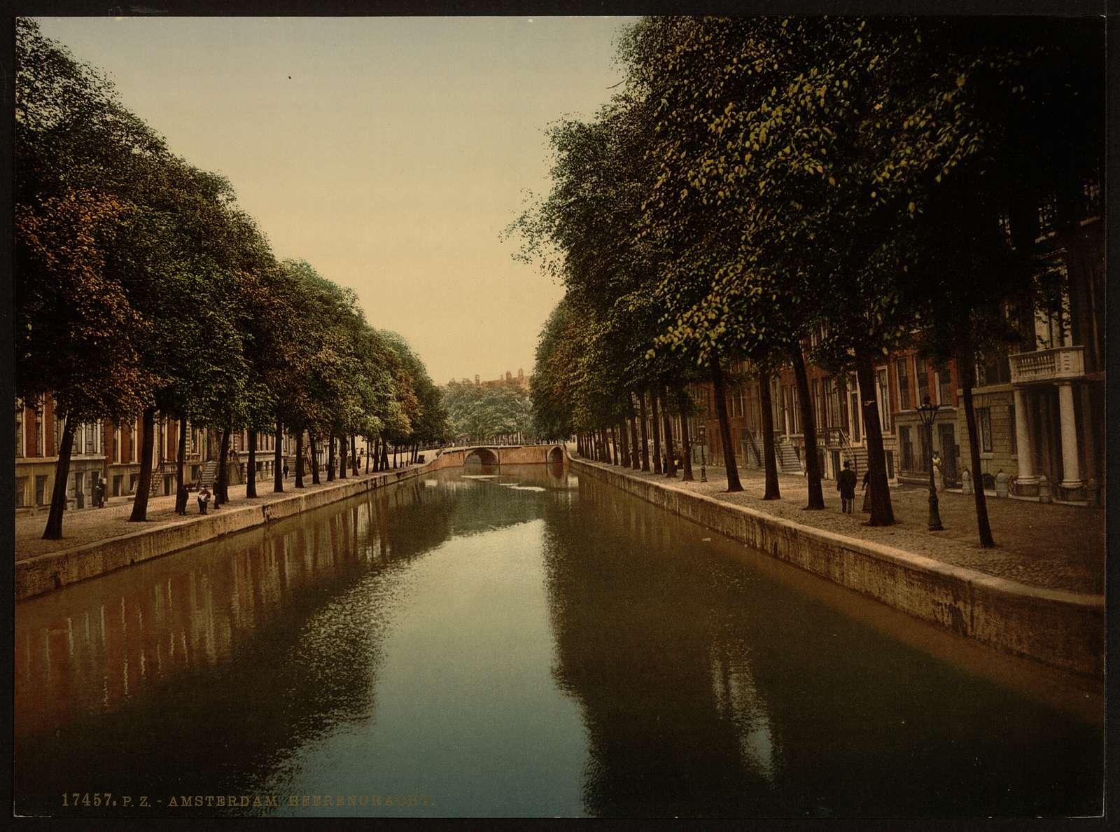 [The Heerengracht (main canal), Amsterdam, Holland]
