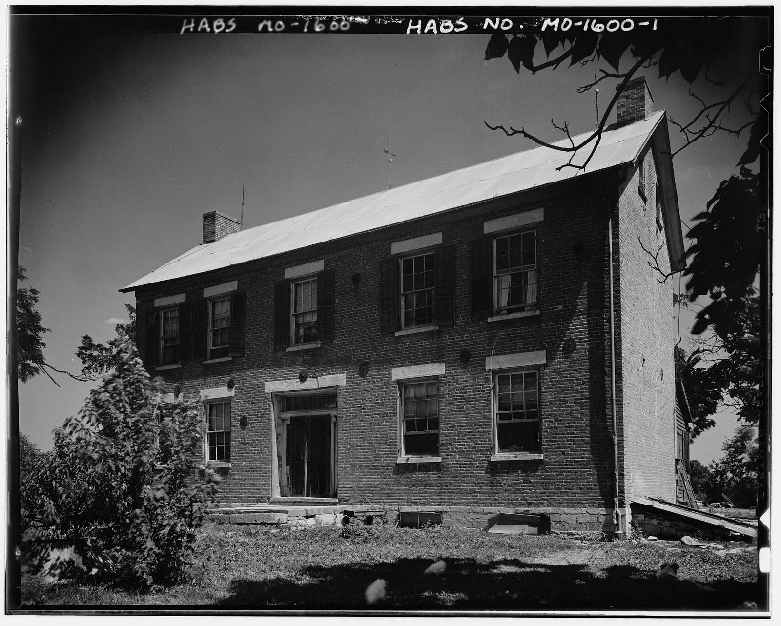 Thomas Howell House, Weldon Spring, St. Charles County, MO