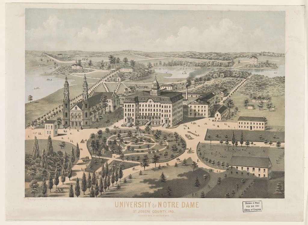 University of Notre Dame St. Joseph County, Ind.