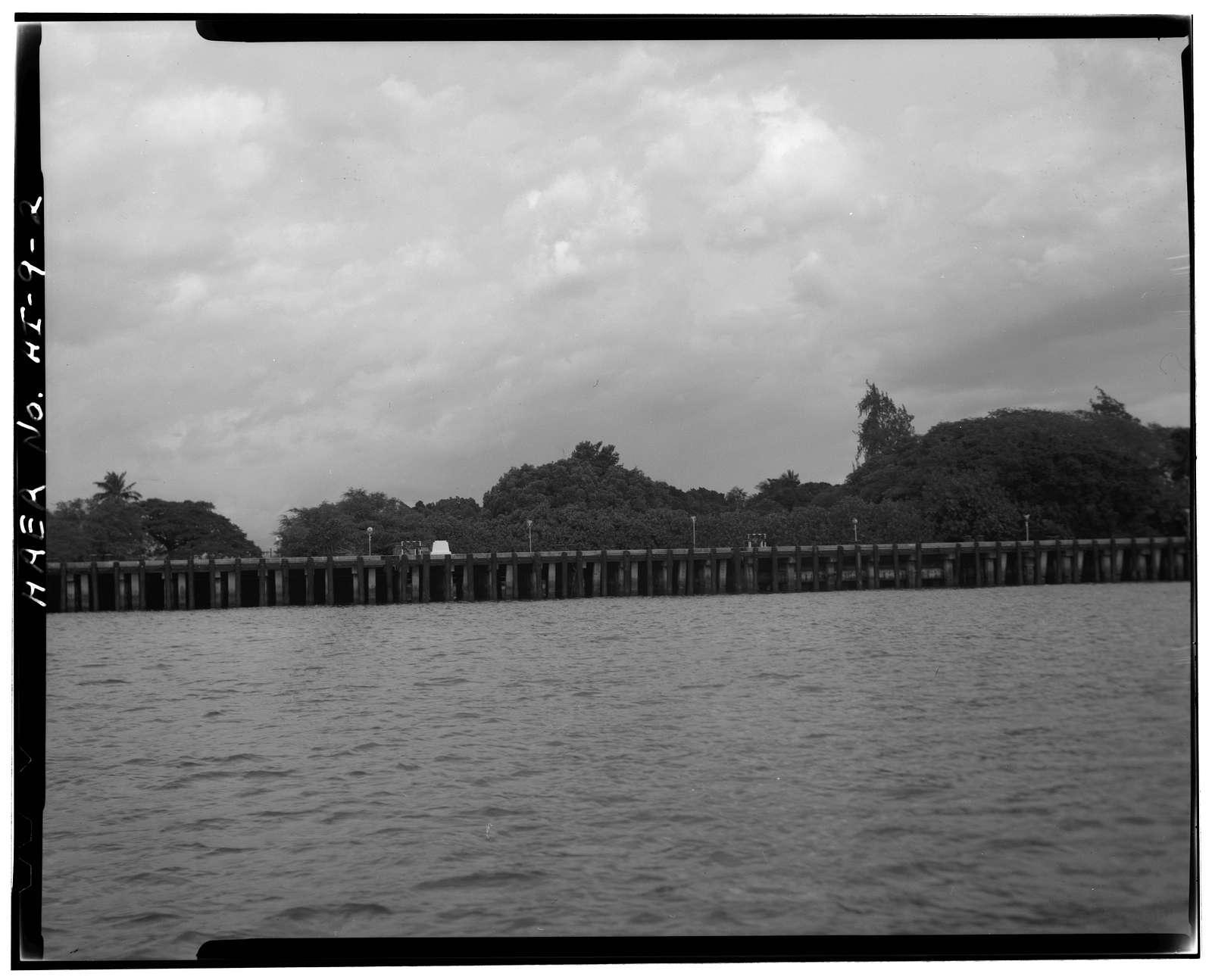 U.S. Naval Base, Pearl Harbor, Berthing Wharf S378, Beckoning Point, Southeast of Cowpens Street, Ford Island, Pearl City, Honolulu County, HI