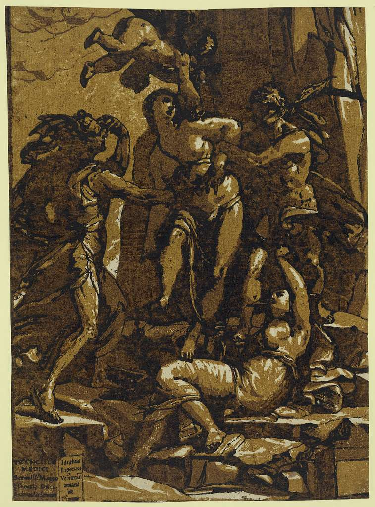 Virtue / Iacobus Ligozzus Verones inuenit ac pinxit, Andreas Andreanas