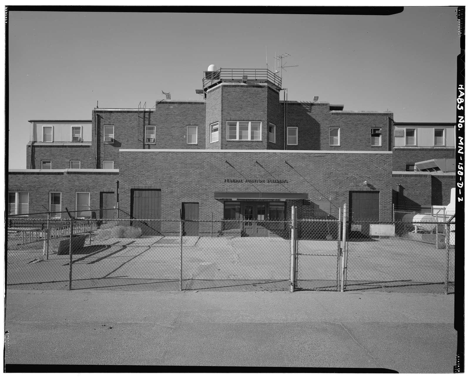 Wold-Chamberlain Field, Administration Building, 6301 Thirty-fourth Avenue, South, Minneapolis, Hennepin County, MN