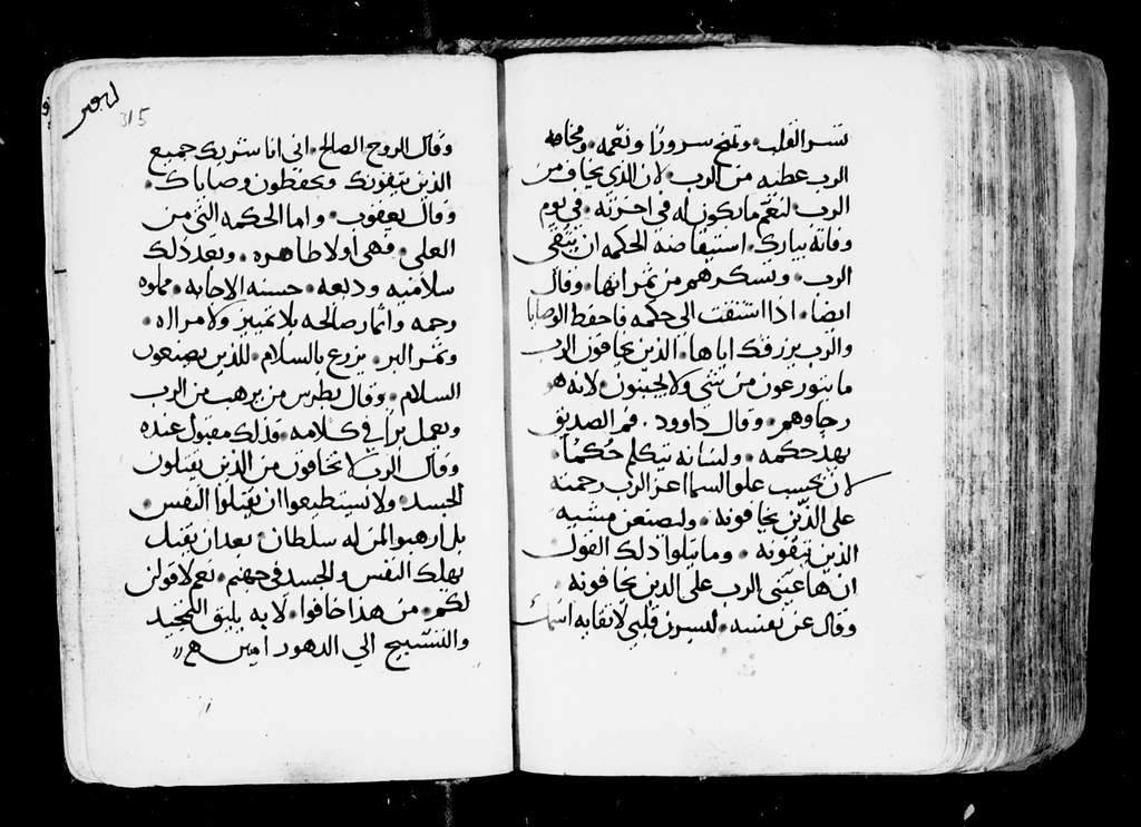Arabic Manuscripts 380. St. Antiochus: Pandectes