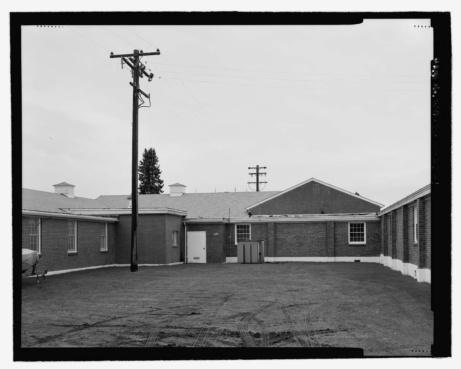 Madigan Hospital, Generator Building, DuPont, Pierce County, WA