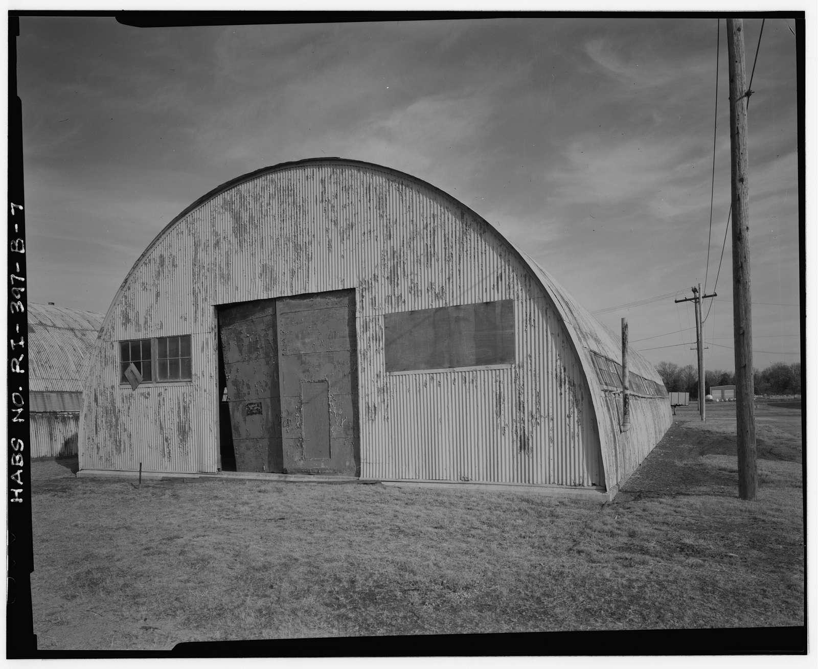 Advance Base Depot Davisville, Building T-17, Ninth Street southeast of Davisville Road, Davisville, Washington County, RI