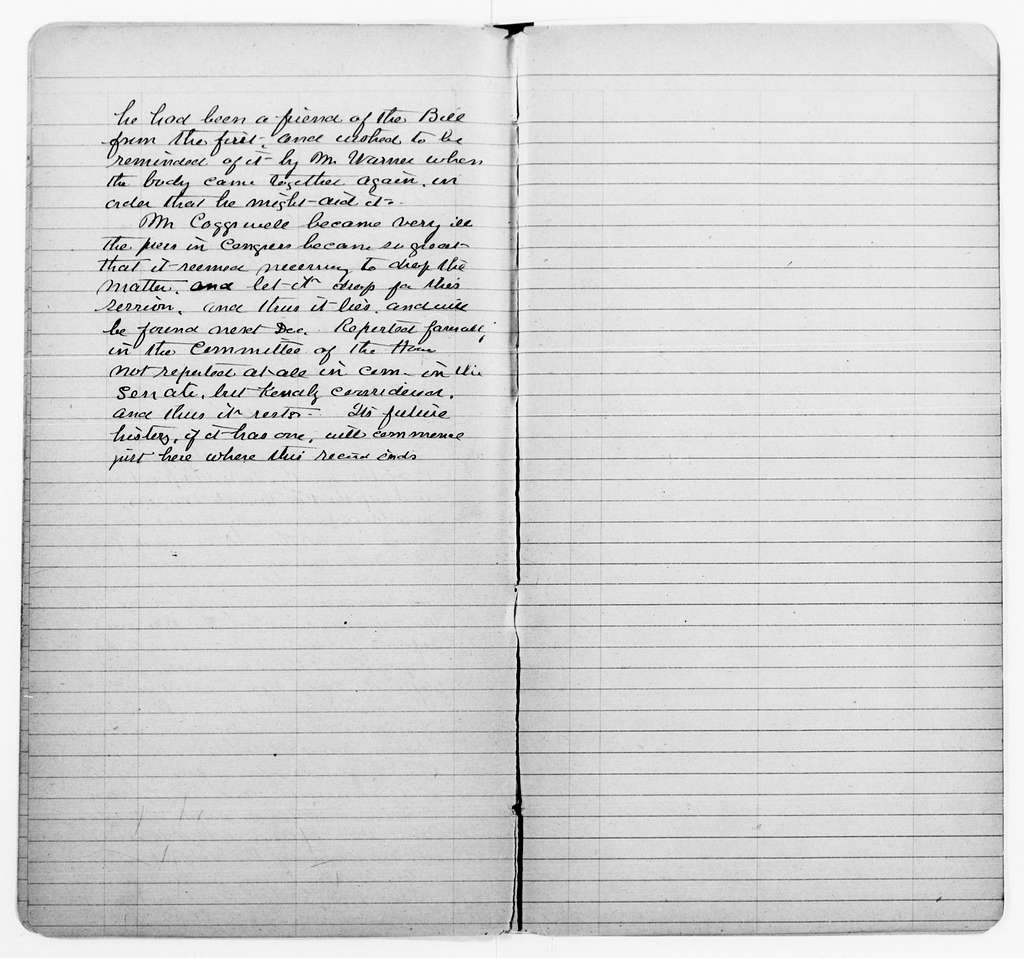 Clara Barton Papers: Diaries and Journals: 1892, June-July; 1893, Jan.-May (includes expense accounts of June 1892-Oct. 1895)