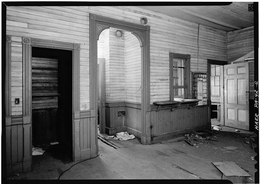 Erie Railway, Shohola Station, Rohman Avenue & Richardson Street, Shohola, Pike County, PA