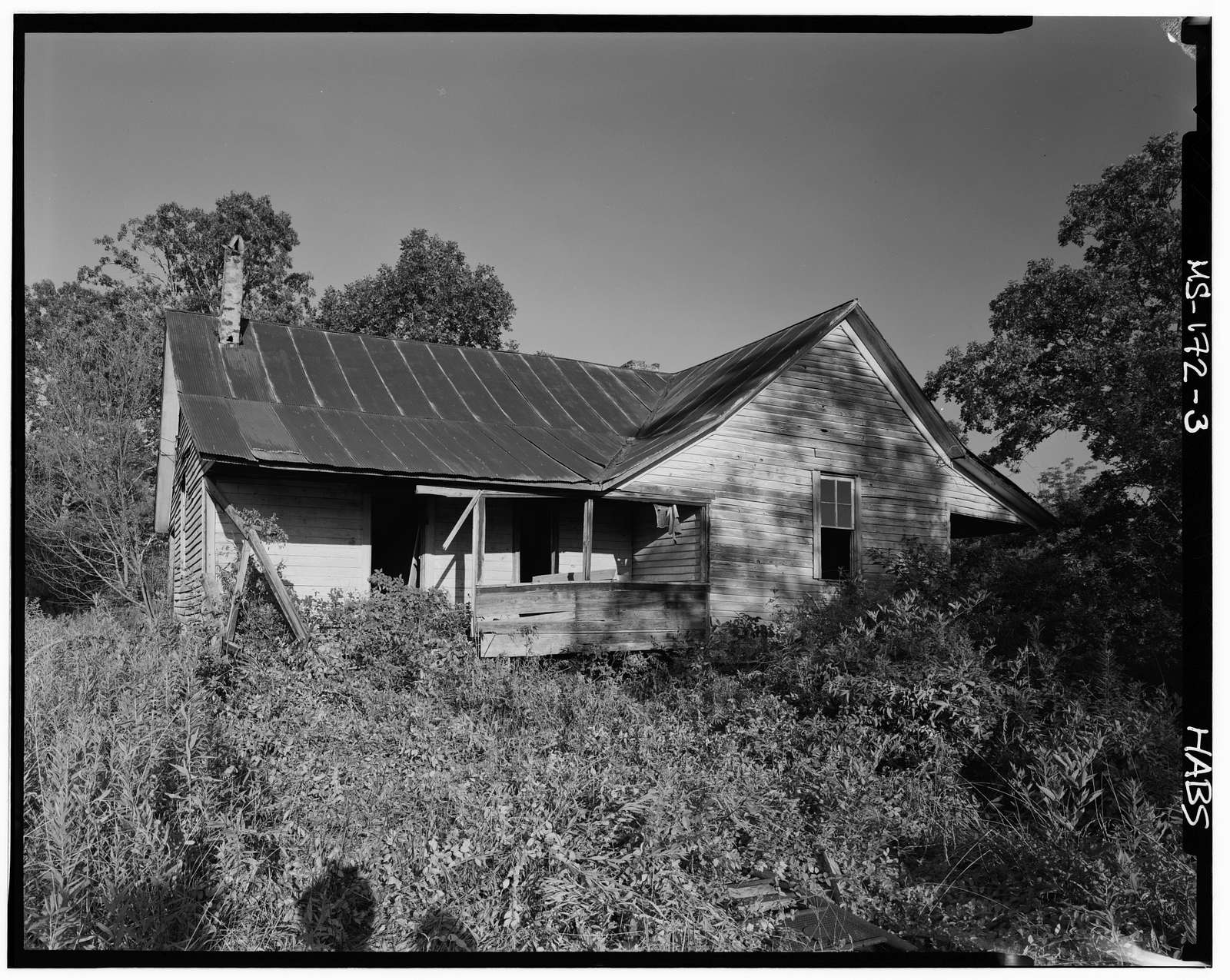 Ezra Searcy House, West of Prentiss-Tishimingo County Line, New Site, Prentiss County, MS