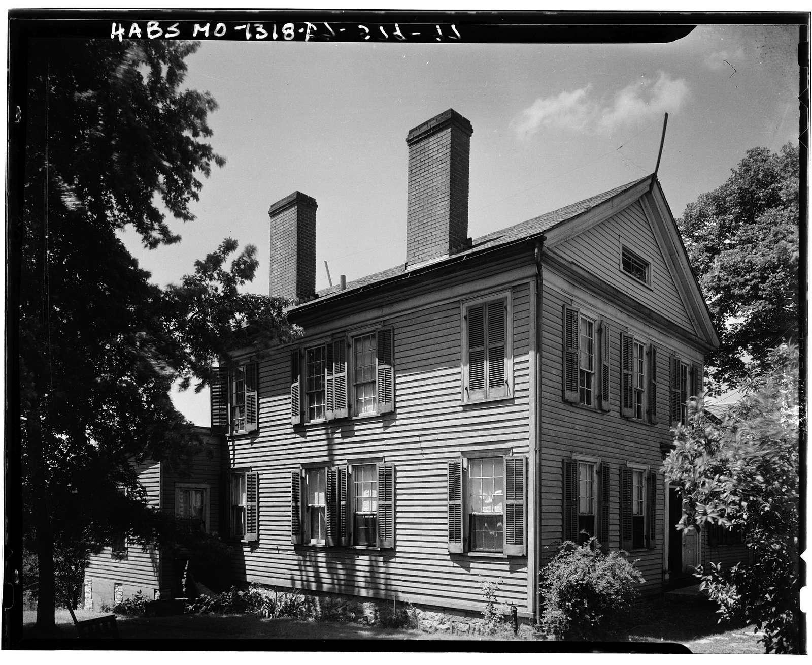 Frizel-Welling House, Jackson, Cape Girardeau County, MO