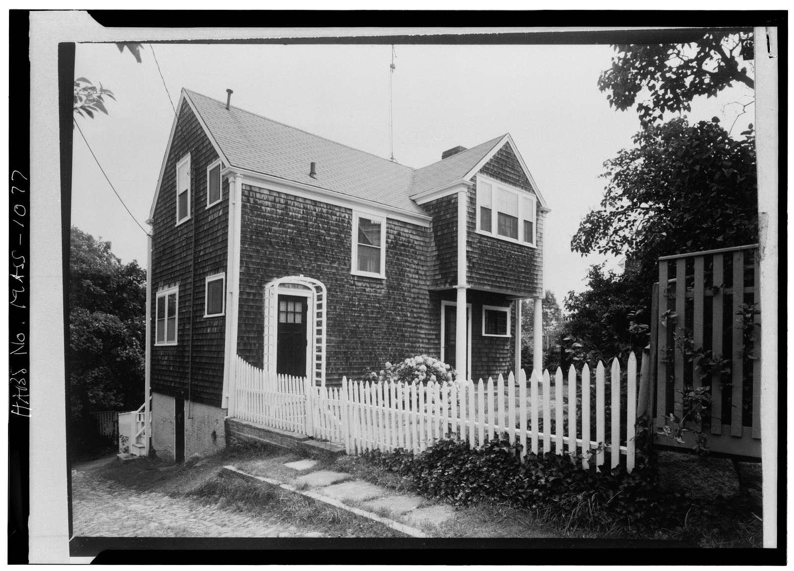 George B. Upton House, 2 Stone Alley, Nantucket, Nantucket County, MA