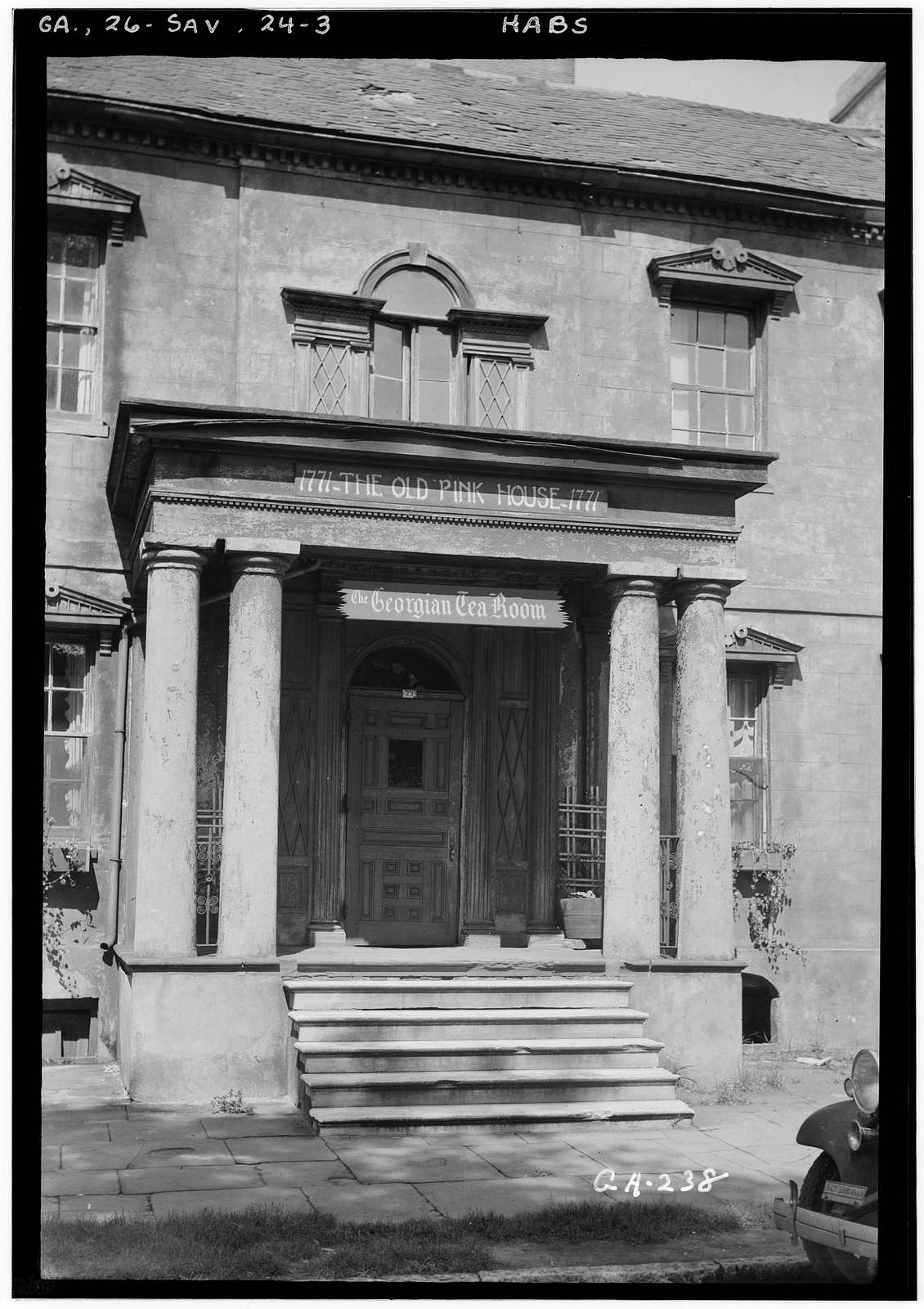 Habersham House, Reynolds Square Vicinity, Savannah, Chatham County, GA