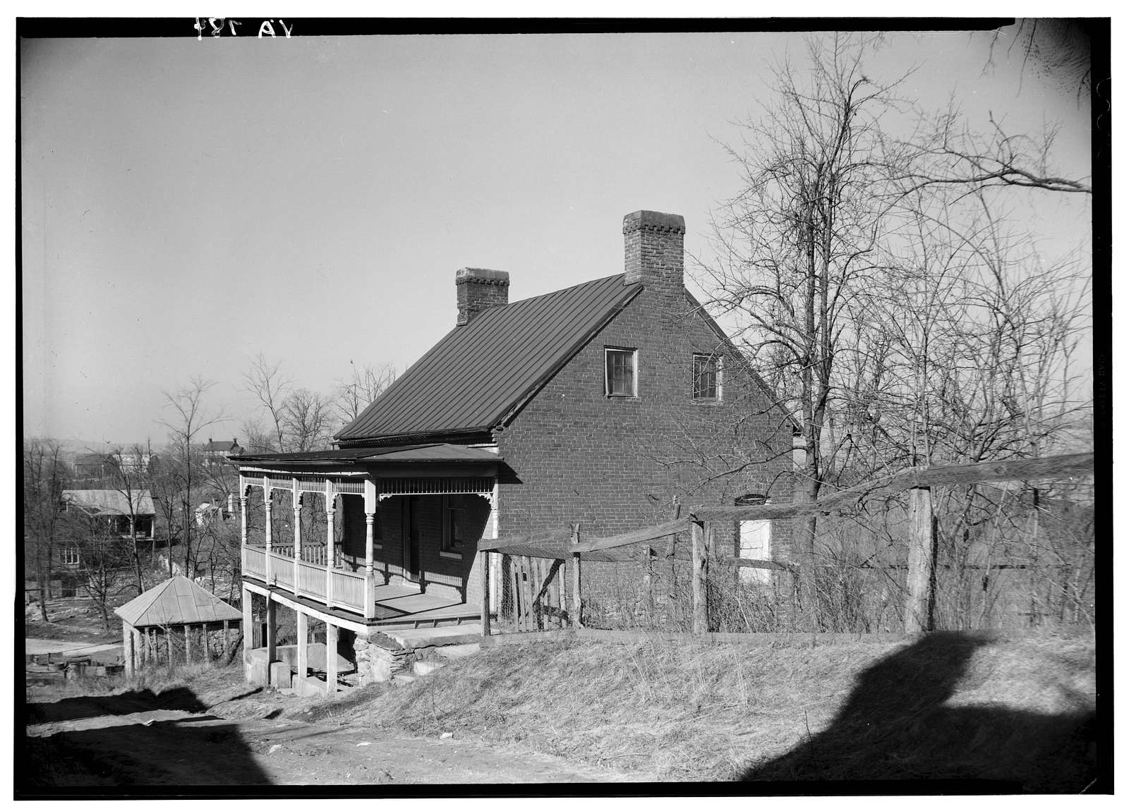 Hector Hough House, Main Street Hill, Waterford, Loudoun County, VA