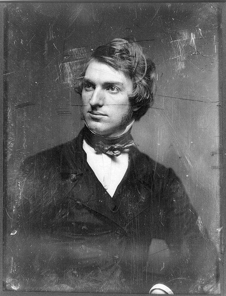 [Henry Peters Gray, half-length portrait, head three-quarters to left]