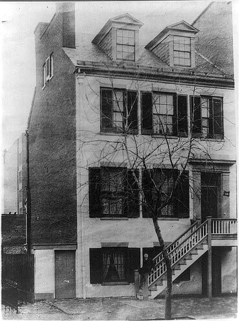 Home of Mrs. Surratt - on H Street, N.W. between 6th and 7th streets