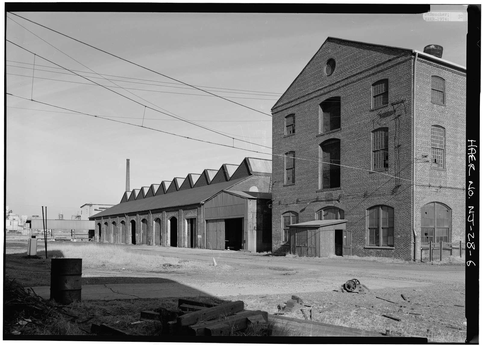 Ichabod T. Williams & Sons Sawmill & Veneer Plant, Roosevelt Avenue at Carteret Avenue, Carteret, Middlesex County, NJ