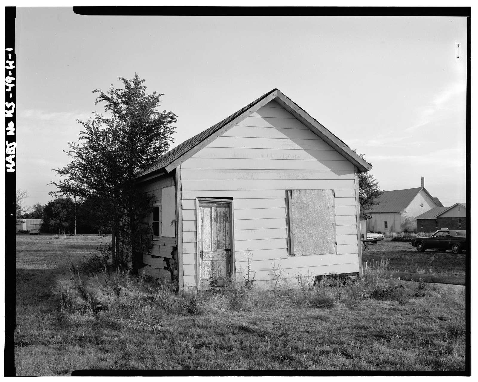Joe Wilson's Post Office, South Avenue & Third Street (moved to), Nicodemus, Graham County, KS