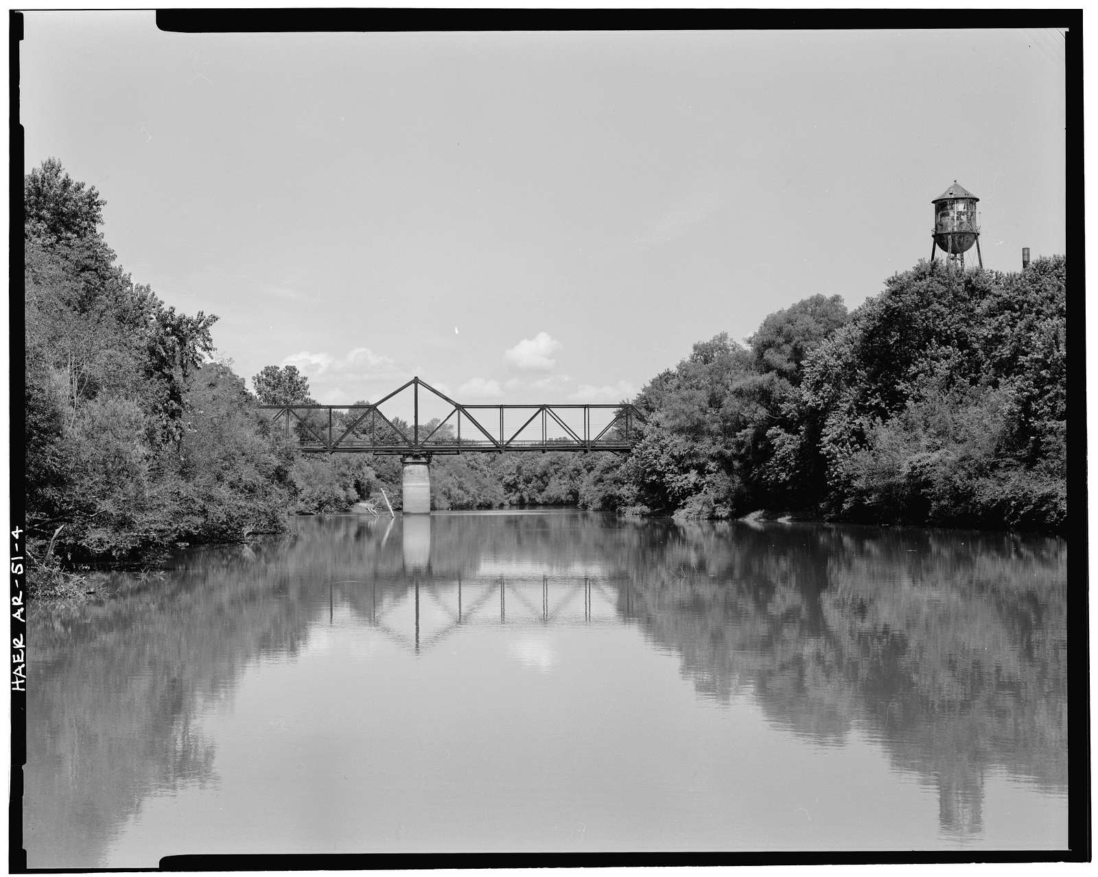 Judsonia Bridge, Spanning LIttle White River at County Road 66, Judsonia, White County, AR