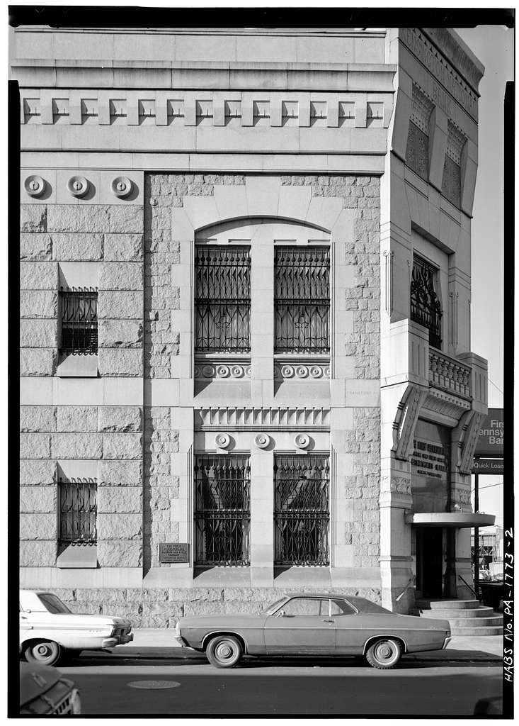 Kensington National Bank, 2-8 West Girard Avenue, Philadelphia, Philadelphia County, PA