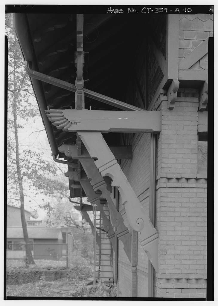 Mark Twain House, Carriage House, 351 Farmington Avenue, Hartford, Hartford County, CT