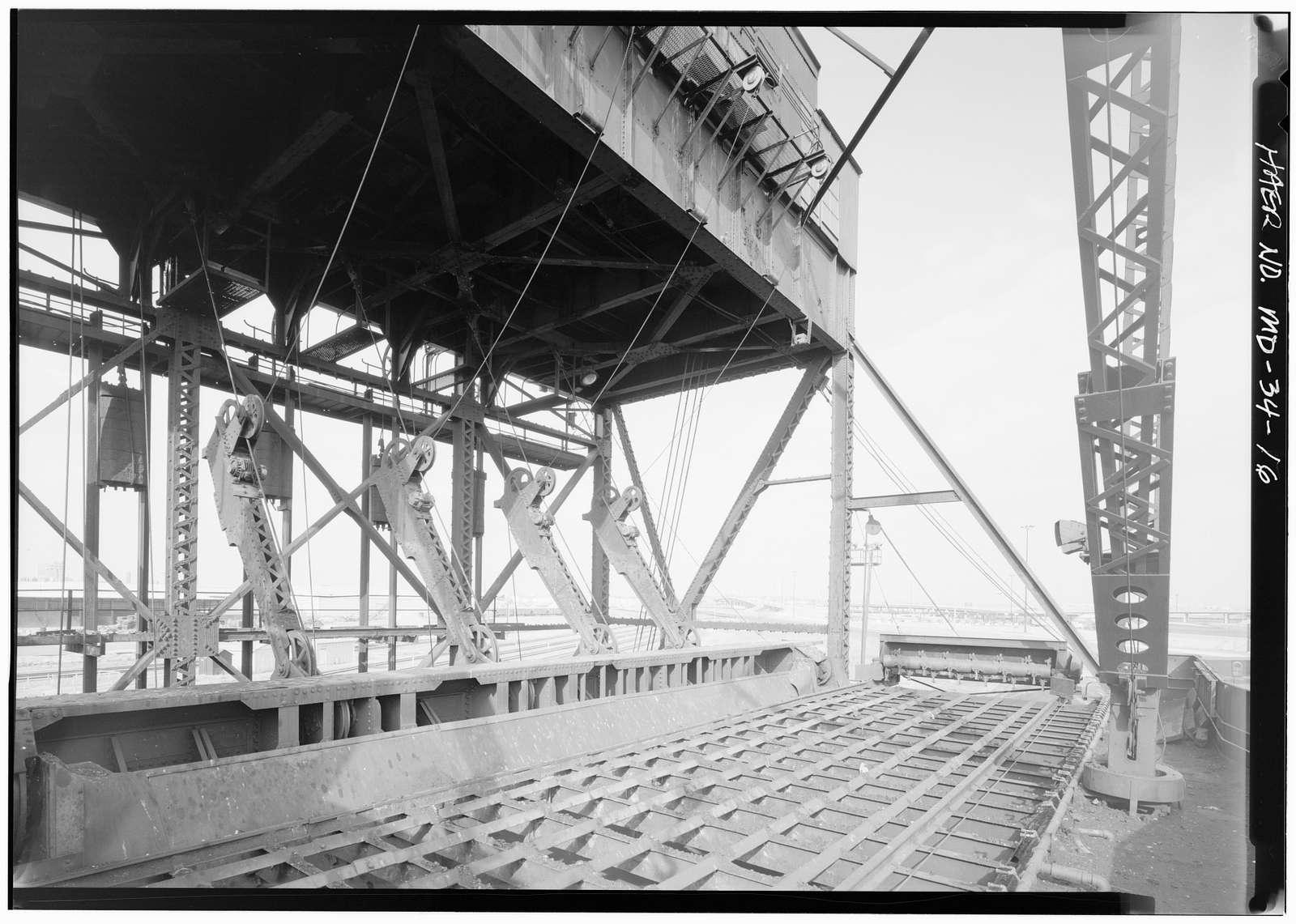 Pennsylvania Railroad, Canton Coal Pier, Clinton Street at Keith Avenue (Canton area), Baltimore, Independent City, MD