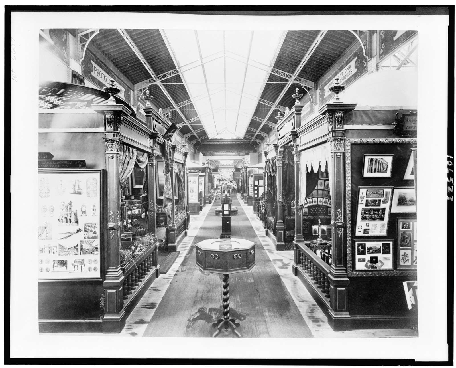 [Photography exhibit, Palace of Liberal Arts, Paris Exposition, 1889]