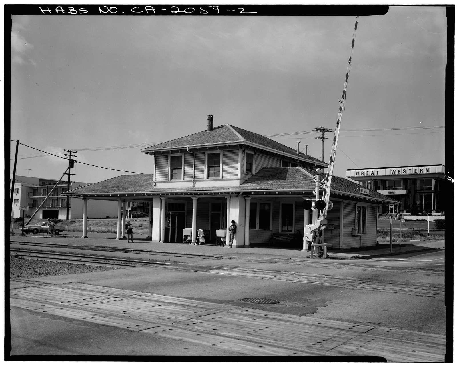 Southern Pacific Depot, 21 East Millbrae Avenue, Millbrae, San Mateo County, CA