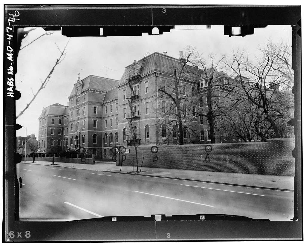 St. Mary's Seminary, 600 North Paca Street, Baltimore, Independent City, MD