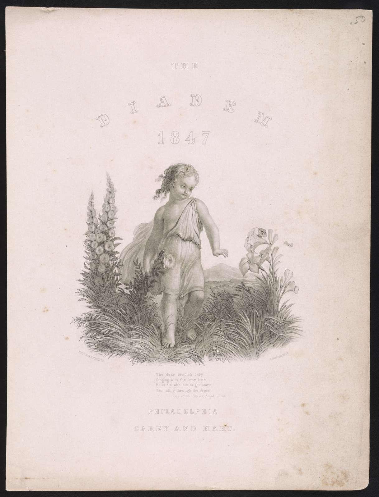 The Diadem 1847 / Rev. W.H. Furness ; John Sartain.