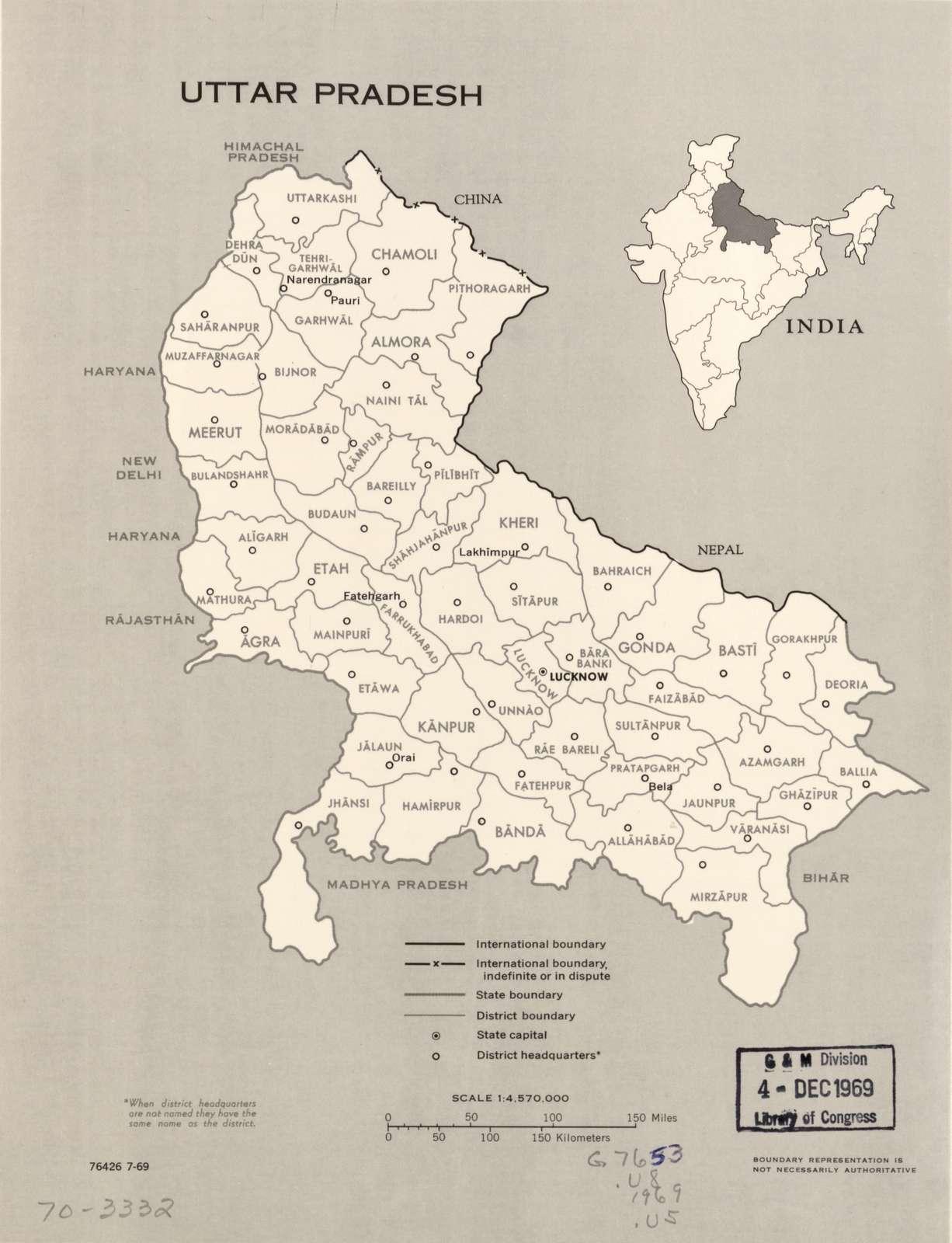 Uttar Pradesh. 7-69.