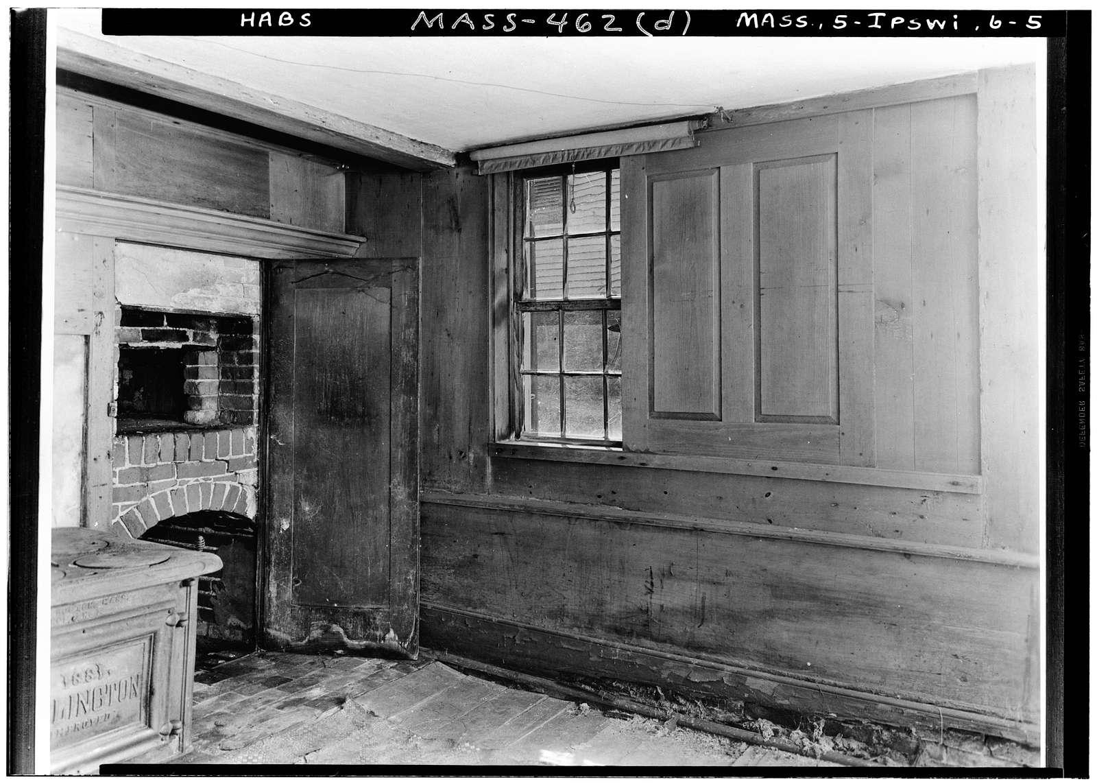 Waldo Caldwell House (Interiors), High Street, Ipswich, Essex County, MA