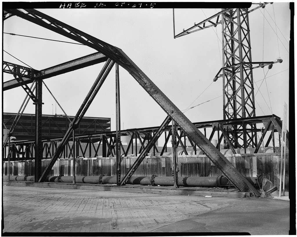 Water Street Bridge, US Route 1 spanning Metro-North Commuter Railroad, New Haven, New Haven County, CT