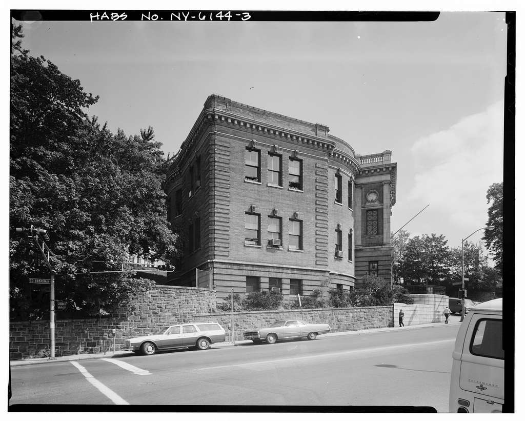 Yonkers Public Library, Nepperhan Avenue & South Broadway, Yonkers, Westchester County, NY