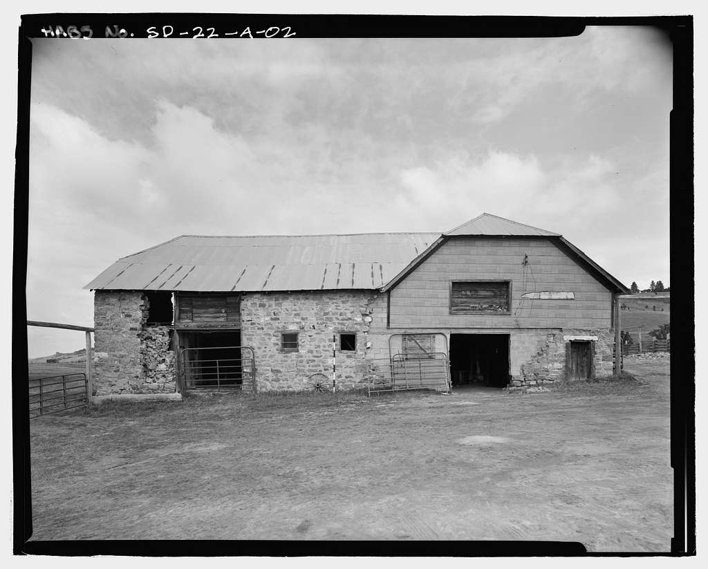 Anderson Dairy Ranch, Dairy Barn, Centennial Valley, Rural Route 2, Spearfish, Lawrence County, SD