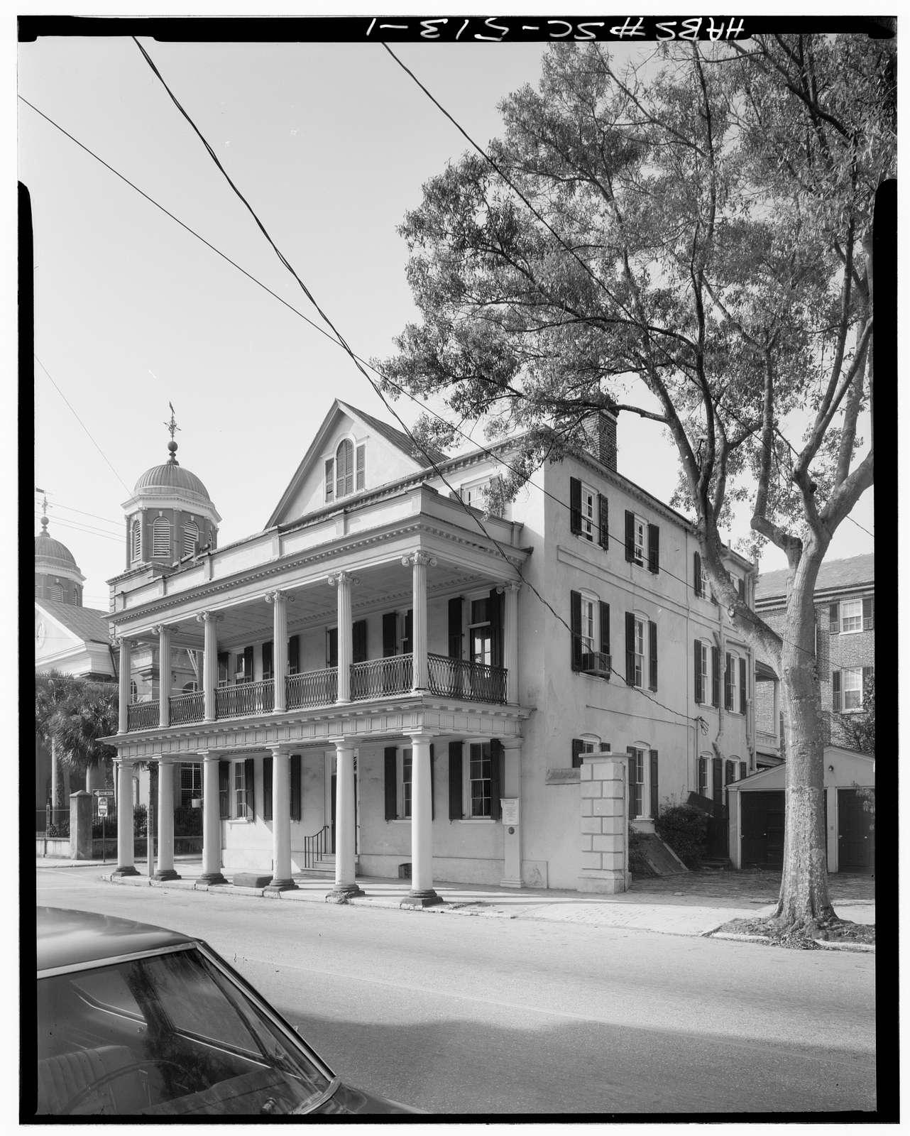 Branford-Horry House, 59 Meeting Street, Charleston, Charleston County, SC