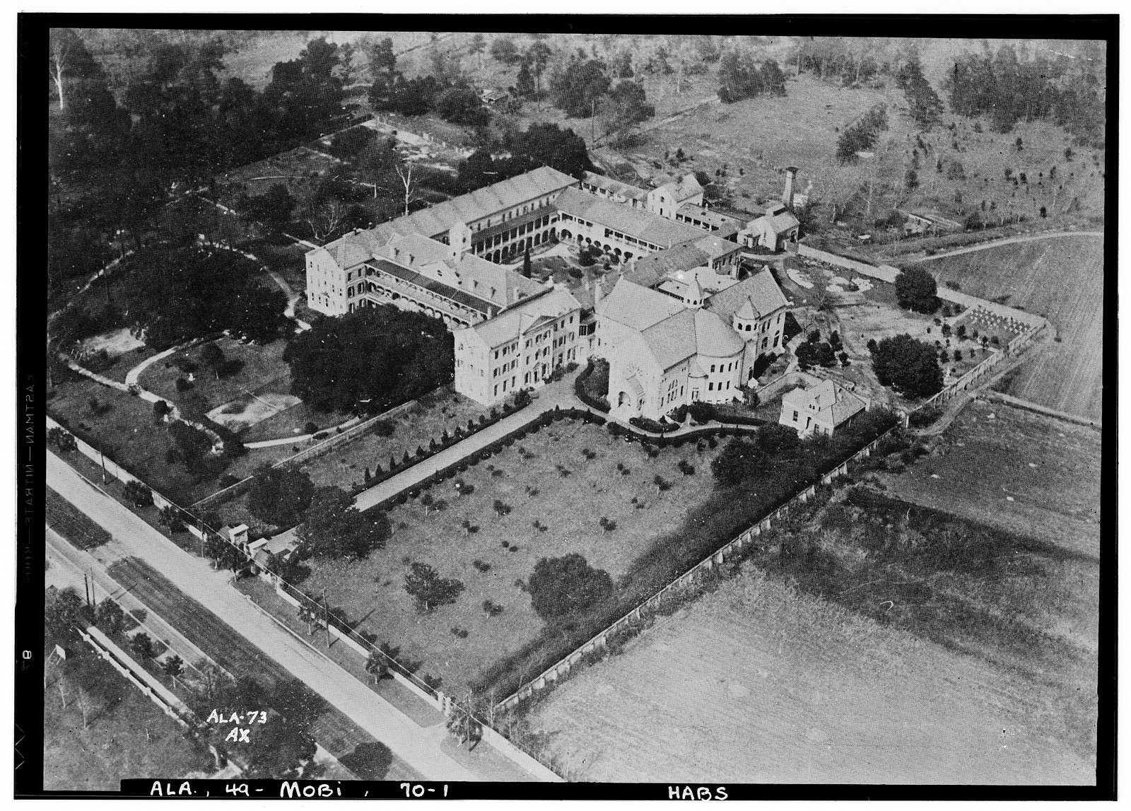 Convent of the Visitation, 2300 Spring Hill Avenue, Mobile, Mobile County, AL
