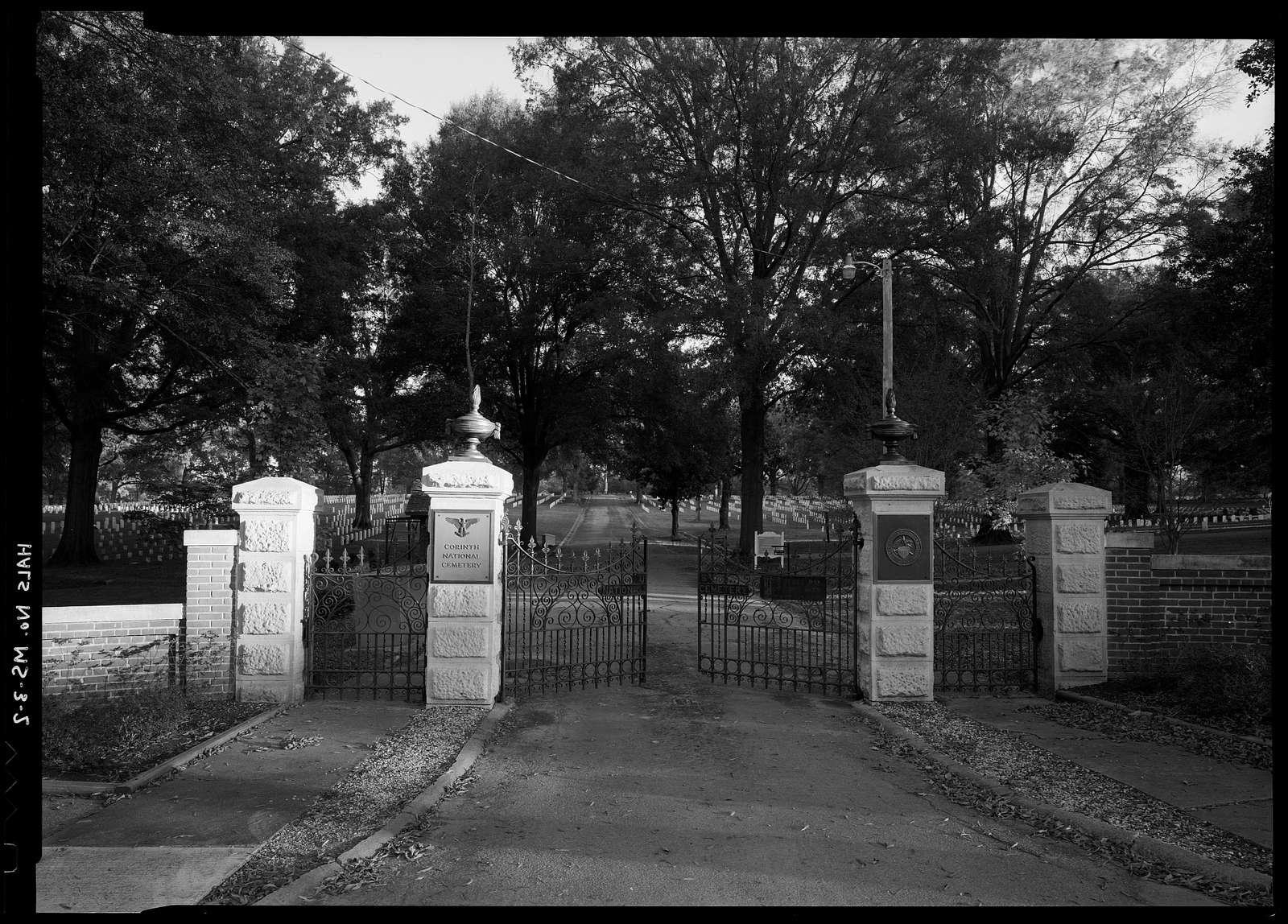 Corinth National Cemetery, 1551 Horton Street, Corinth, Alcorn County, MS