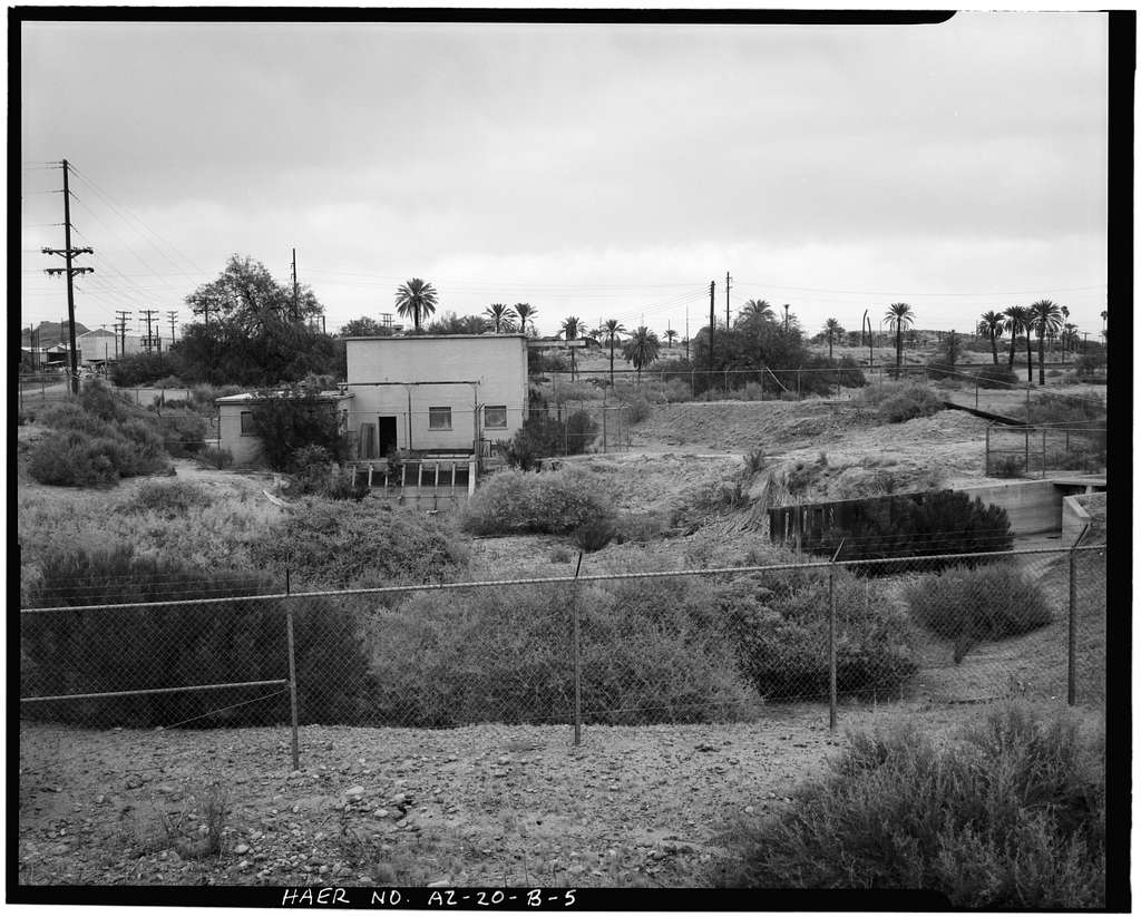 Crosscut Steam Plant, Indian Bend Pond & Pump Ditch, North side Salt River near Mill Avenue & Washington Street, Tempe, Maricopa County, AZ