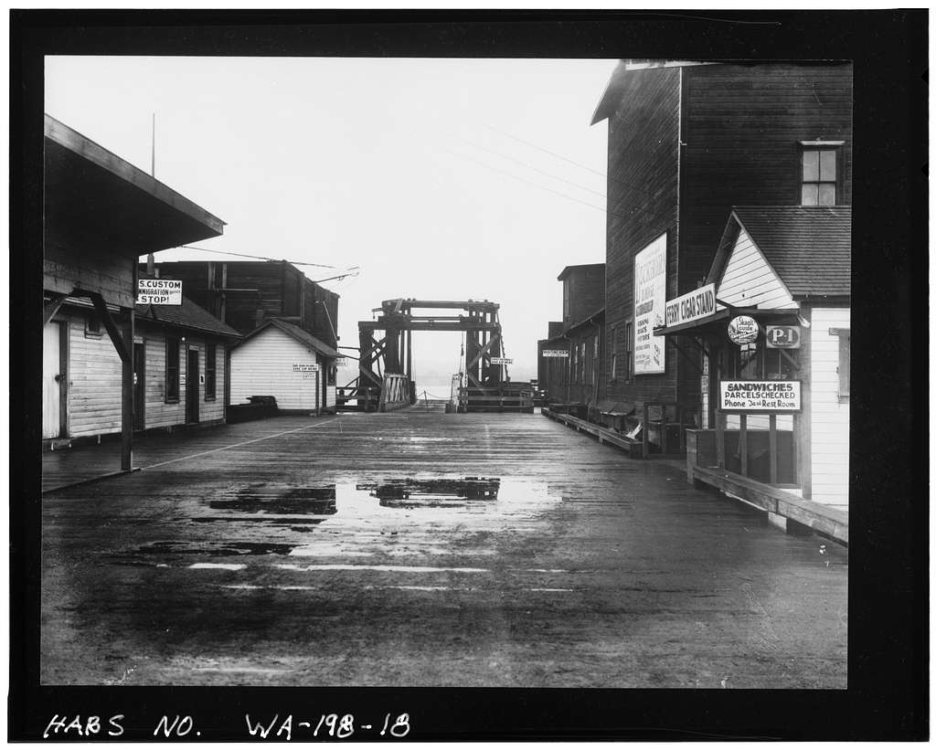 Curtis Wharf, O & Second Streets, Anacortes, Skagit County, WA
