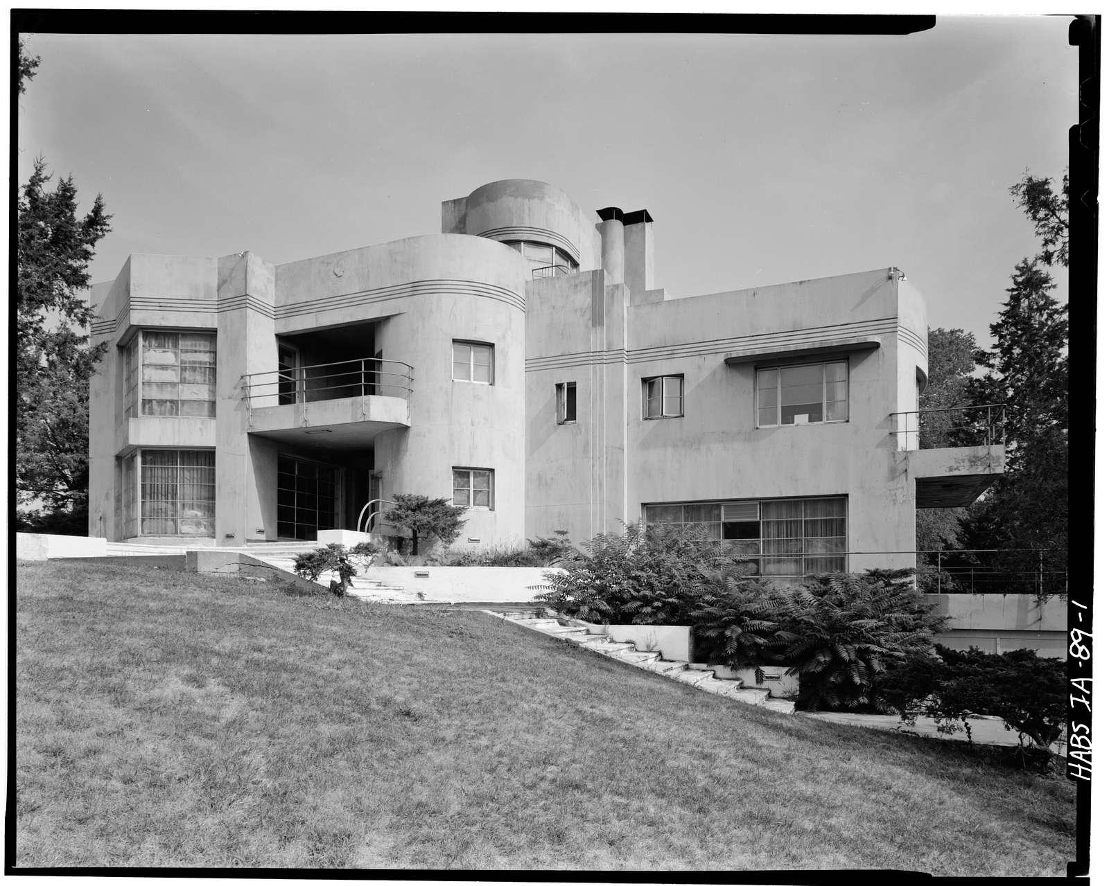 Earl Butler House, 2633 South Fluer Drive, Des Moines, Polk County, IA