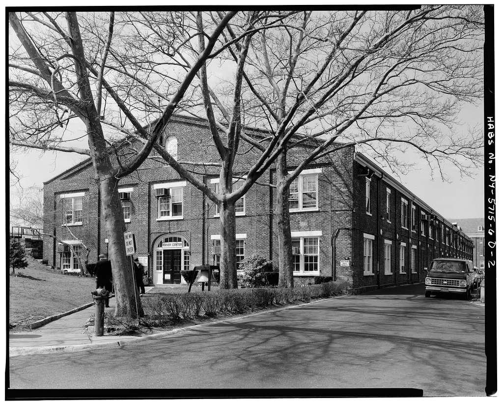 Governors Island, New York Arsenal, Storehouse, New York Harbor near Andes Road, New York, New York County, NY
