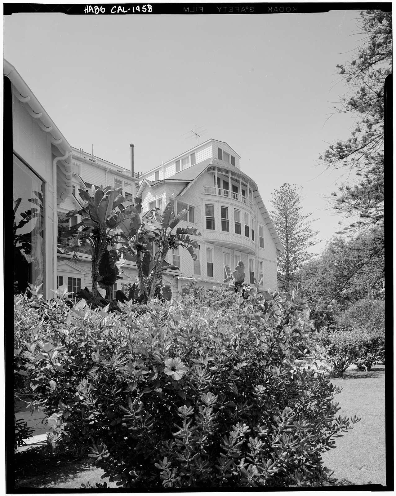 Hotel Del Coronado, 1500 Orange Avenue, Coronado, San Diego County, CA