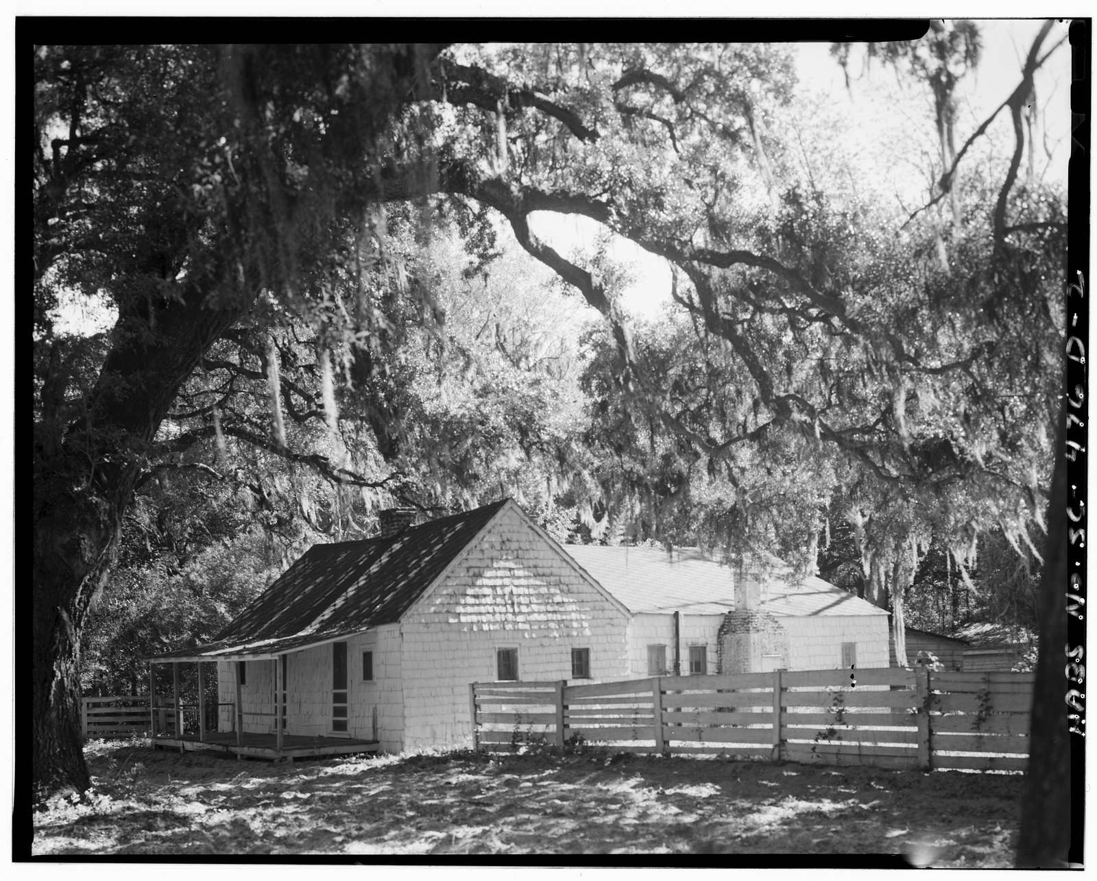 Mansfield Plantation, Slave Quarters, U.S. Route 701 vicinity, Georgetown, Georgetown County, SC