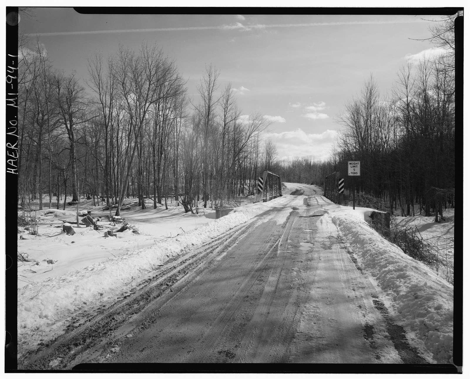 Mason Road Bridge, Spanning Bad River, Ithaca, Gratiot County, MI