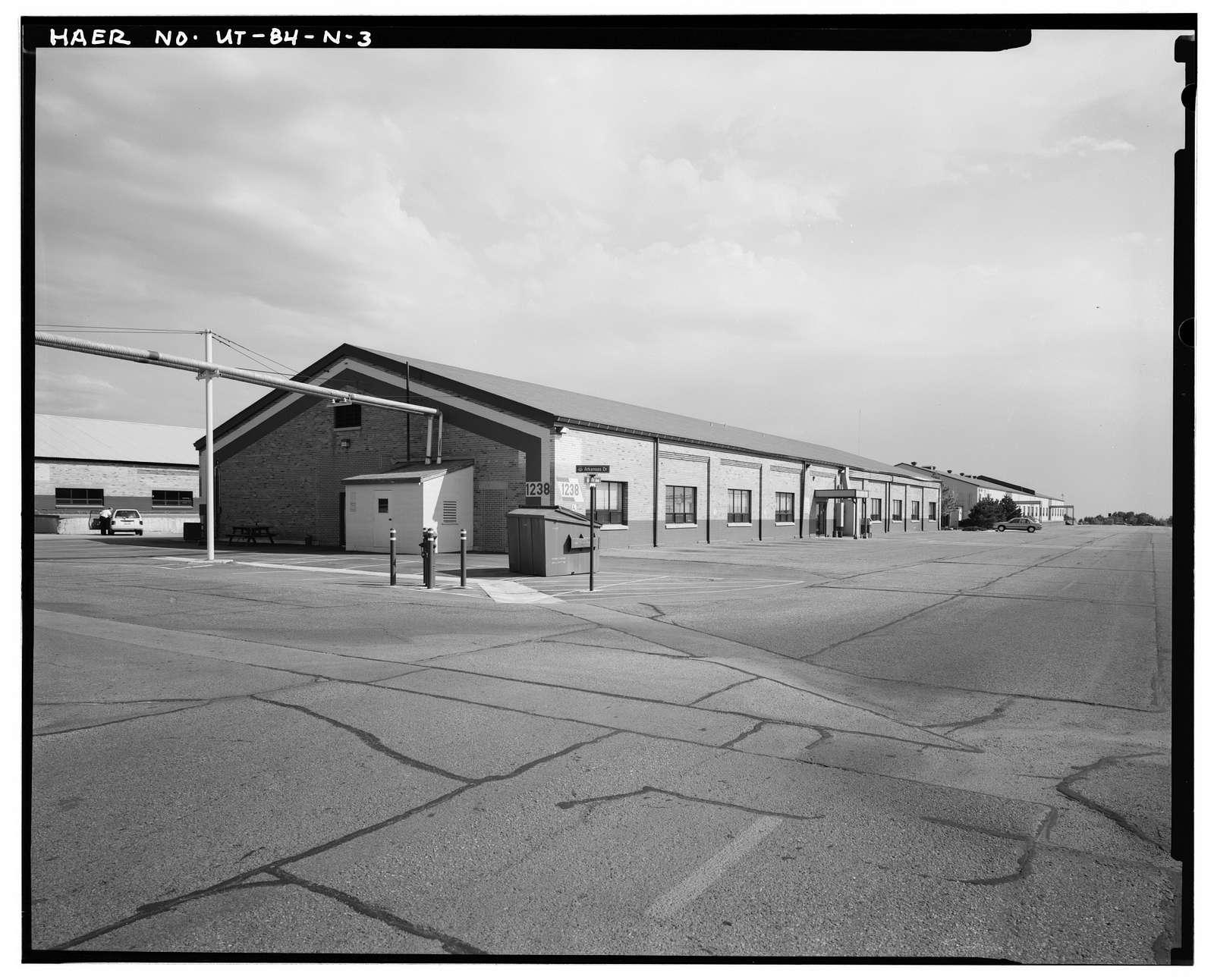 Ogden Arsenal, Warehouse, 6031 Gum Lane, Layton, Davis County, UT
