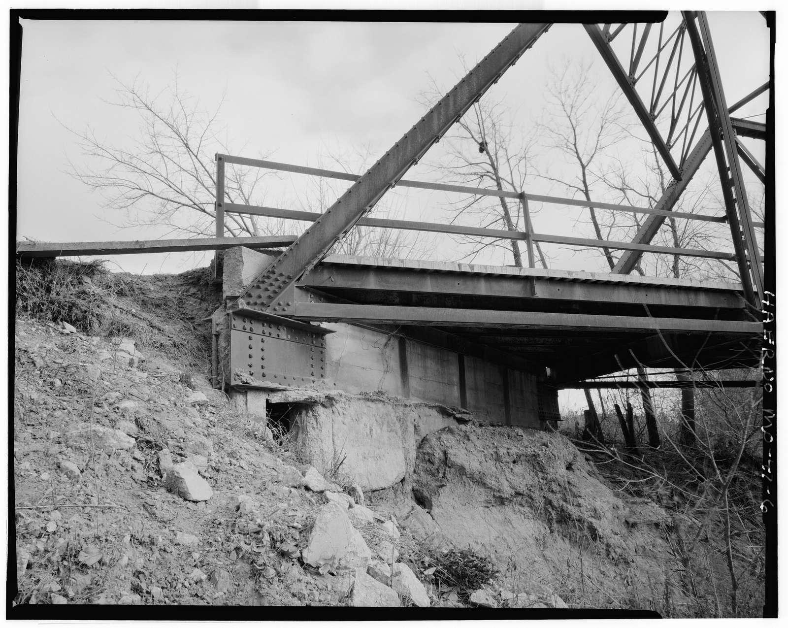 Old Grade Road Bridge, Spanning Brashear Drainage Ditch (Salt River), Brashear, Adair County, MO