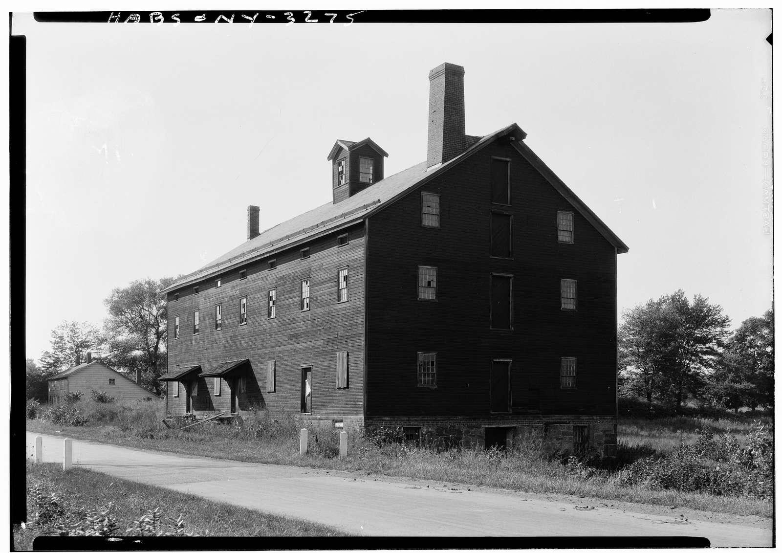 Shaker Church Family Mill, Watervliet Shaker Road, Colonie Township, Watervliet, Albany County, NY