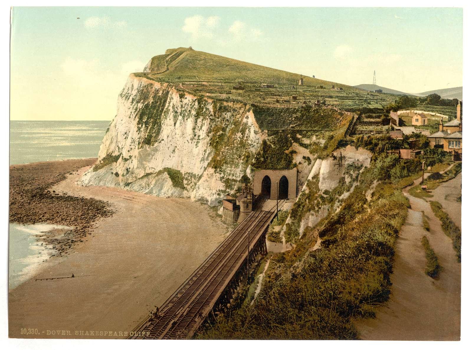 [Shakespeare's Cliff, Dover, England]