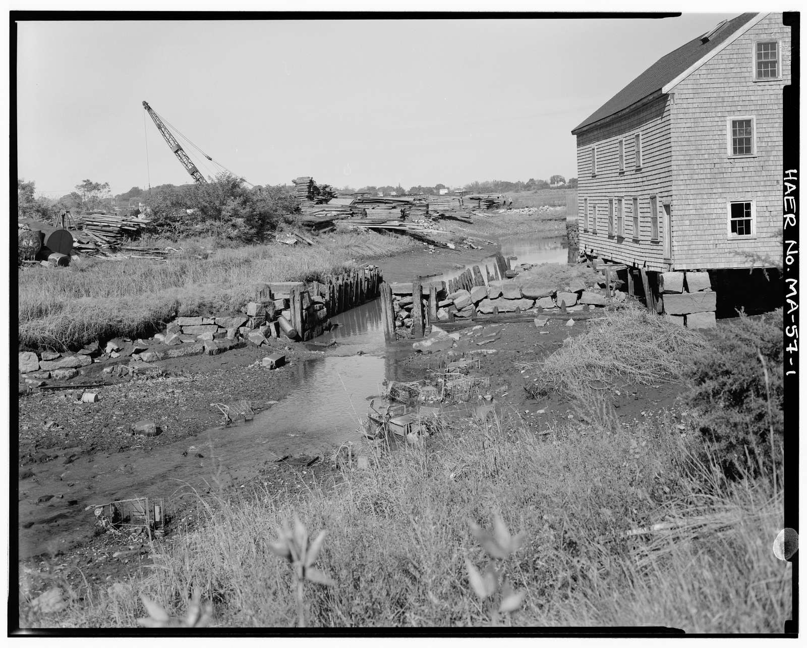 Souther Tide Mill Dam, 610 Southern Artery, Quincy, Norfolk County, MA